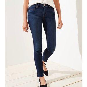 LOFT Super Skinny Curvy MidRise Jeans